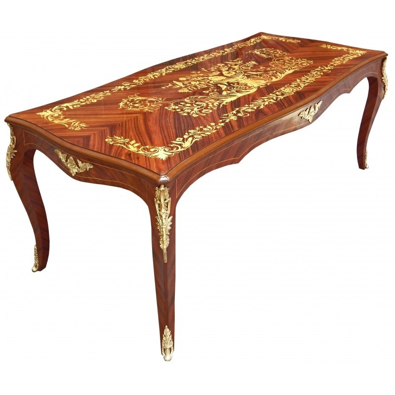 > Louis XV style furniture > Large dining table Louis XV style ...