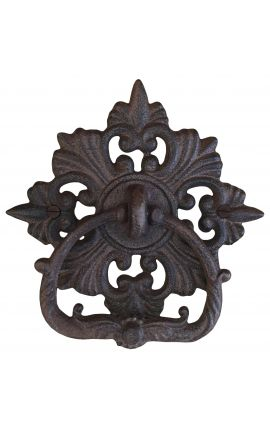 "Door knocker cast iron ""Manoir"""