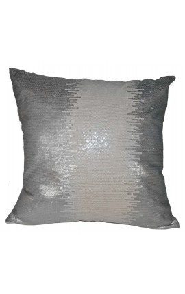 "Cushion ""Glitter Gray"" 40 x 40"