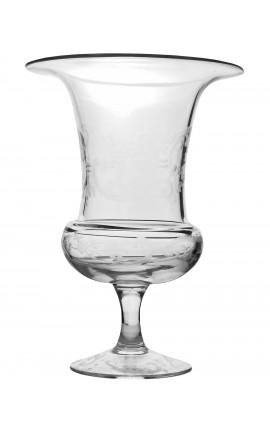 vase en verre souffl et porcelaine 104 no limit giant. Black Bedroom Furniture Sets. Home Design Ideas