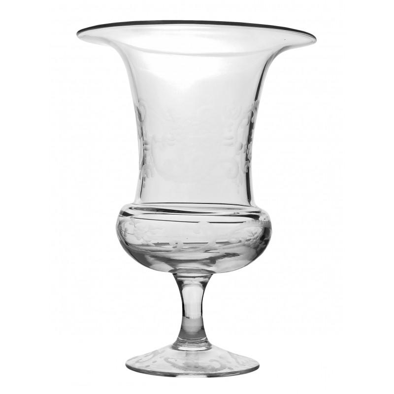 vase m dicis en verre souffl et taill la main. Black Bedroom Furniture Sets. Home Design Ideas