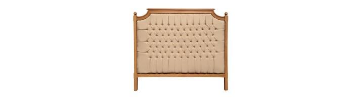 lit et tetes de lit campagne chic royal art palace international. Black Bedroom Furniture Sets. Home Design Ideas