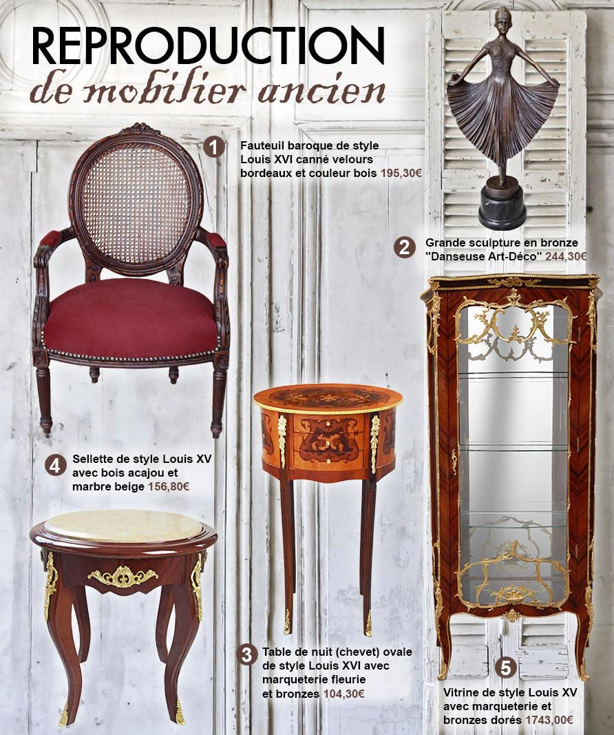 Royal art palace meilleures images d 39 inspiration pour for Reproduction meuble design