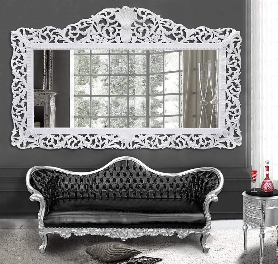 grand miroir pour salon maison design. Black Bedroom Furniture Sets. Home Design Ideas