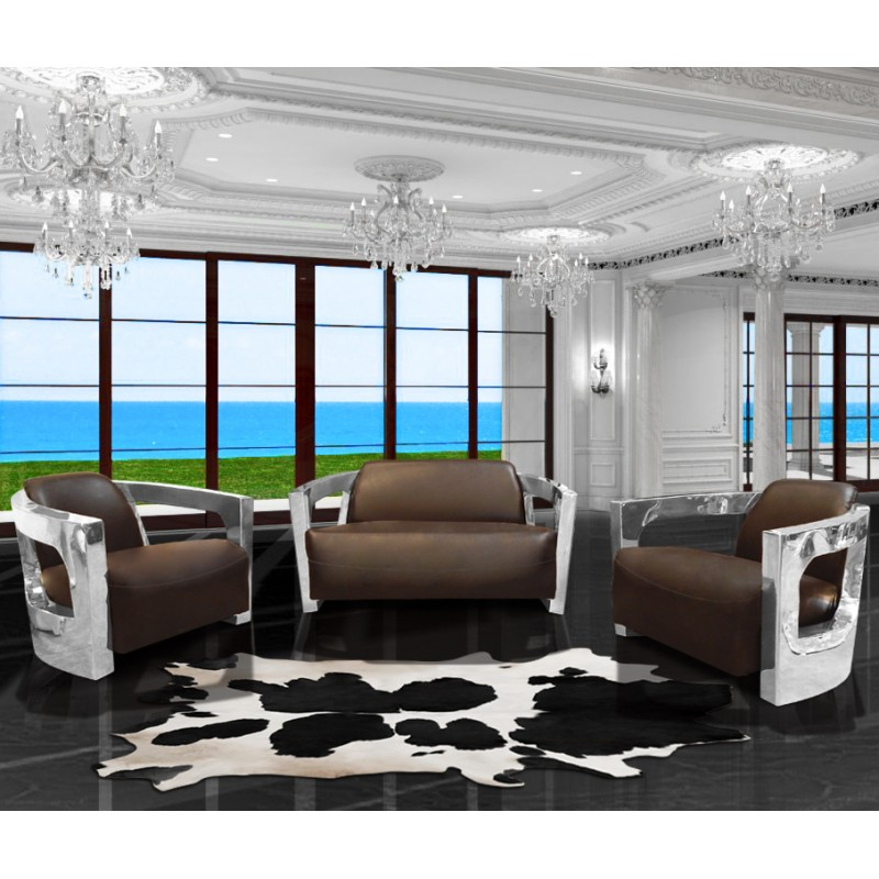 tapis en vrai peau de vache noir et blanc. Black Bedroom Furniture Sets. Home Design Ideas