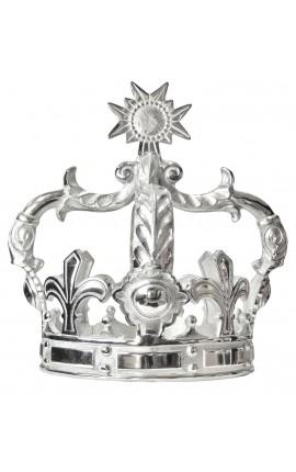 Couronne décorative en aluminium (Grand modèle)