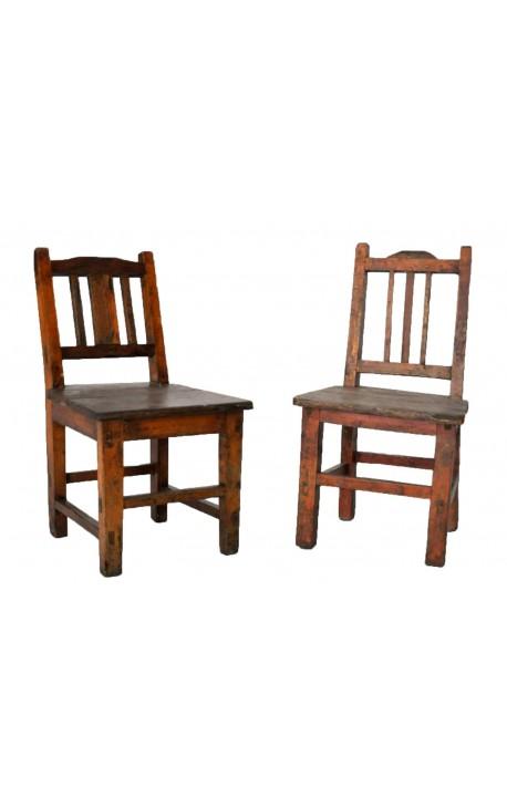 Chaise d'enfant en bois