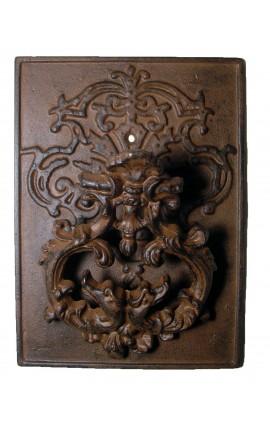 Heurtoir de porte en fonte de style baroque