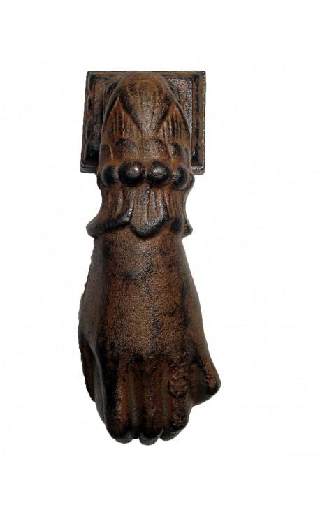 «Main» литой железный дверной молоток