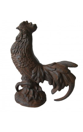 Rooster decorative cast iron