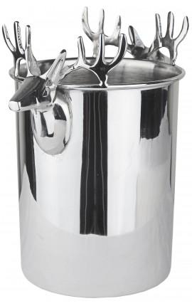 Champagne bucket aluminum