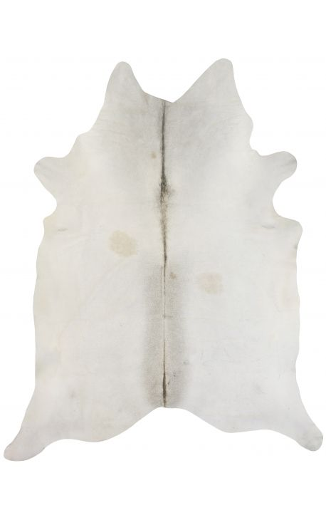 Cowhide carpet beige color