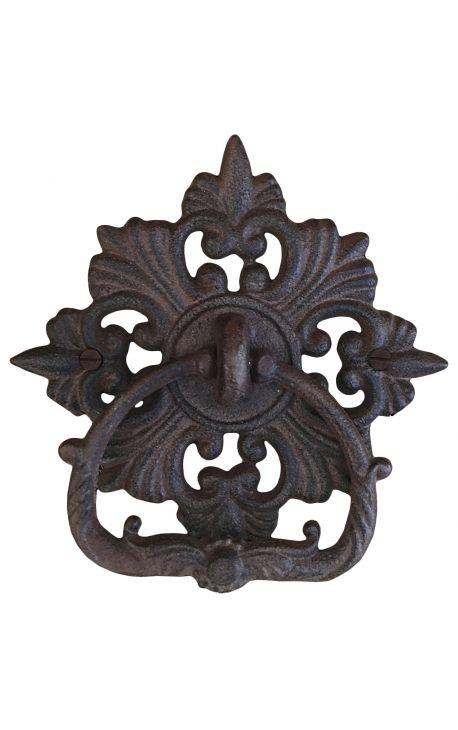 """Door knocker cast iron """"Manoir"""""""