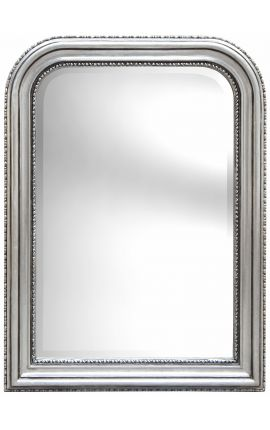 Louis Philippe style mirror and silver beleved mirror