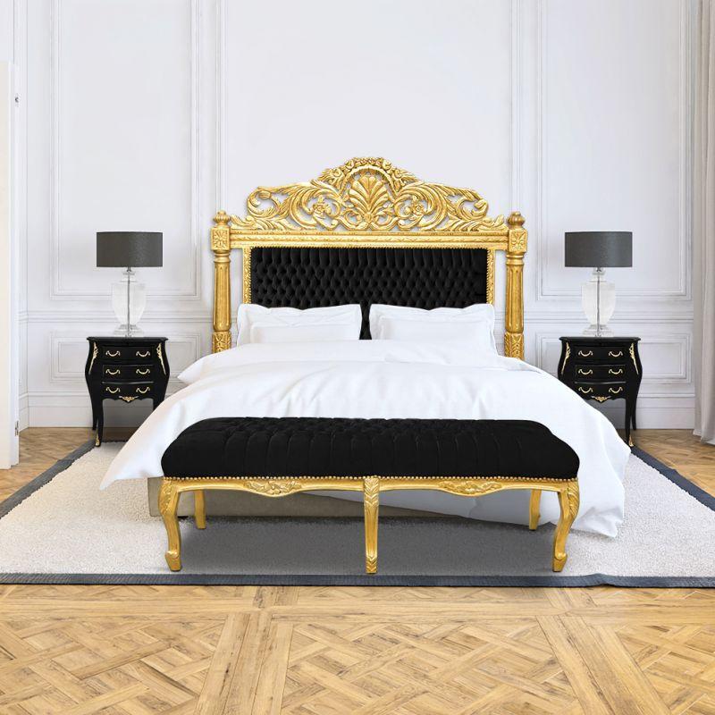 Velour Bedroom Bench
