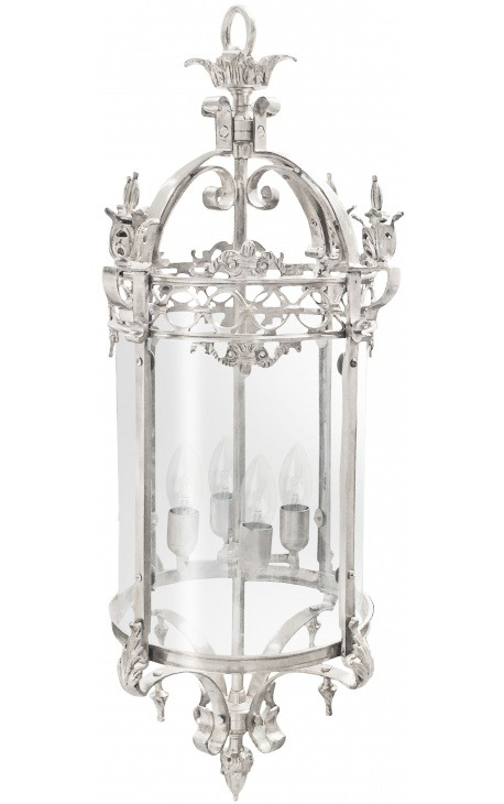 Great hall lantern silvered bronze