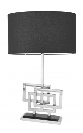 "Table lamp ""Cassiopeia"" in silver color metal"