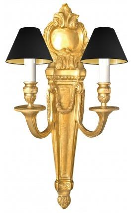 Большой настенный светильник бронза Louis XVI стиле