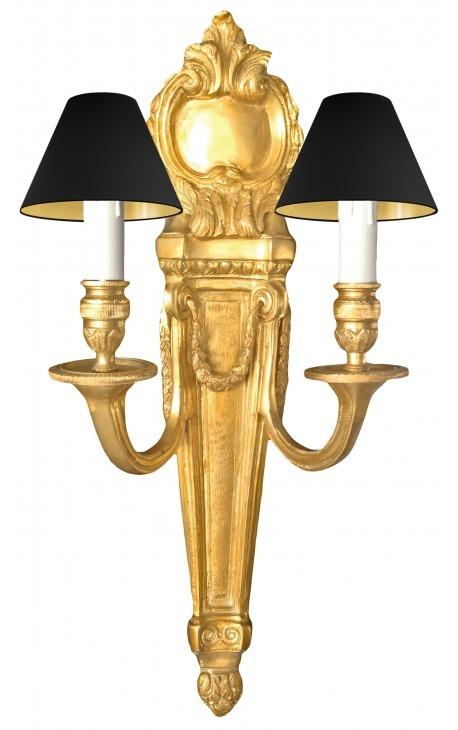Style Grande Applique Bronze En Xvi Murale Louis De 7yfgYb6
