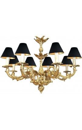 Grand chandelier Louis XV Rocaille style with 8 arms