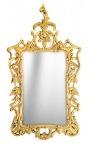 Large mirror baroque rococo giltwood