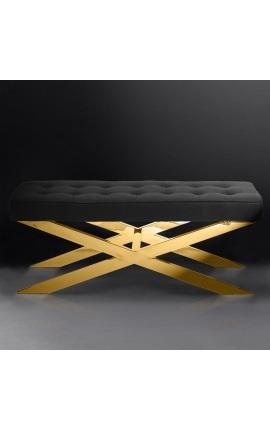 Боковой стол «Zephyr» из серебристой нержавеющей стали и стекла