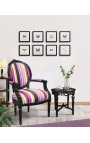 """Decorative frame with a butterfly """"Papilio Phorcas"""""""