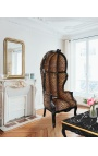 Miroir de style Louis Philippe doré
