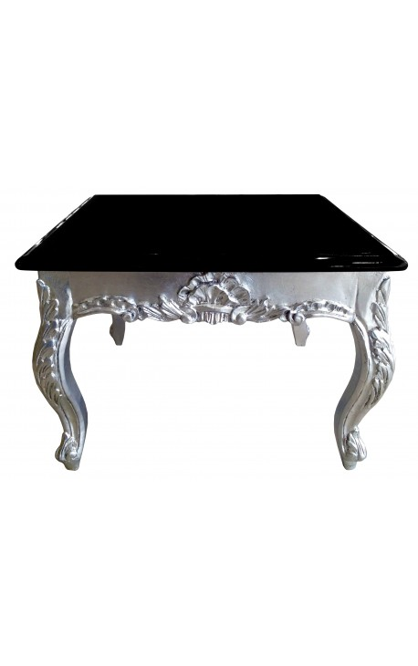 table basse noir baroque. Black Bedroom Furniture Sets. Home Design Ideas