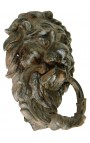 "Cast iron door knocker ""Lion Antique"""