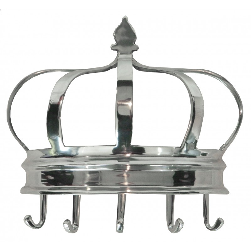 Coat rack aluminum crown for Decoration porte aluminium