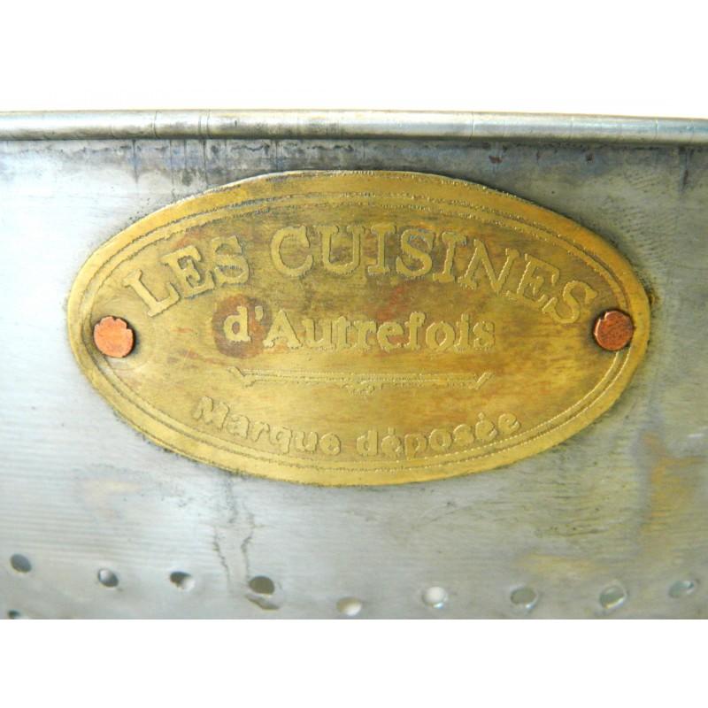 Colander old style metal les cuisines d 39 autrefois for Autrefois decoration