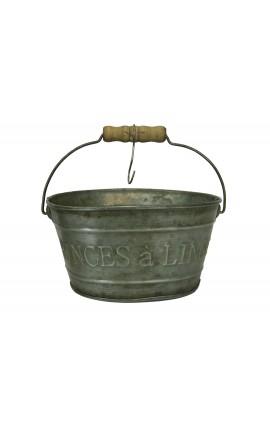 Support pour pinces à linges de style Vintage décors zinc