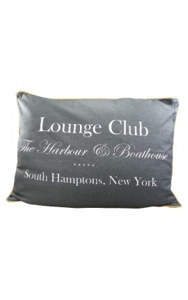 "Coussin ""Lounge Club"" Gris 70 x 50"