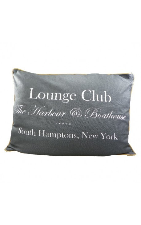 "Подушка ""Lounge Club"" Серый 70 х 50"