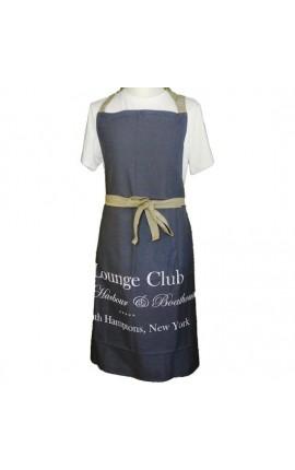 """Tablier de cuisine gris """"Lounge Club"""""""