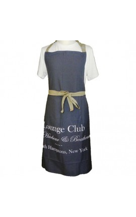 "Tablier de cuisine gris ""Lounge Club"""