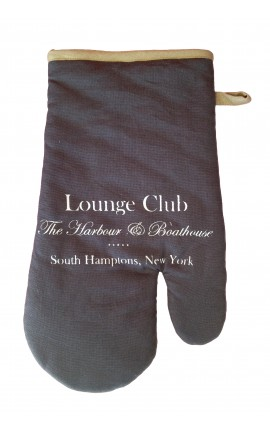 "Potholder for kitchen gray ""Lounge Club"""