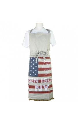 "Cooking Apron Vintage Style ""American Flag"""