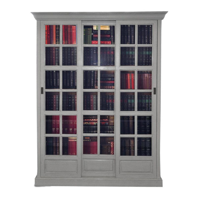 bibliotheque porte coulissante. Black Bedroom Furniture Sets. Home Design Ideas