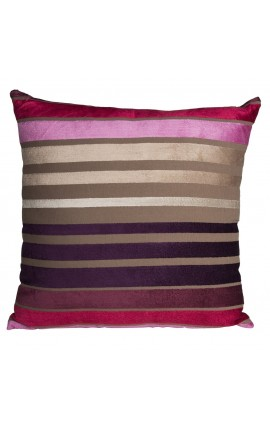 "Cushion ""Striped"" multicolor 40 x 40"