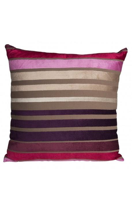 """Cushion """"Striped"""" multicolor 40 x 40"""