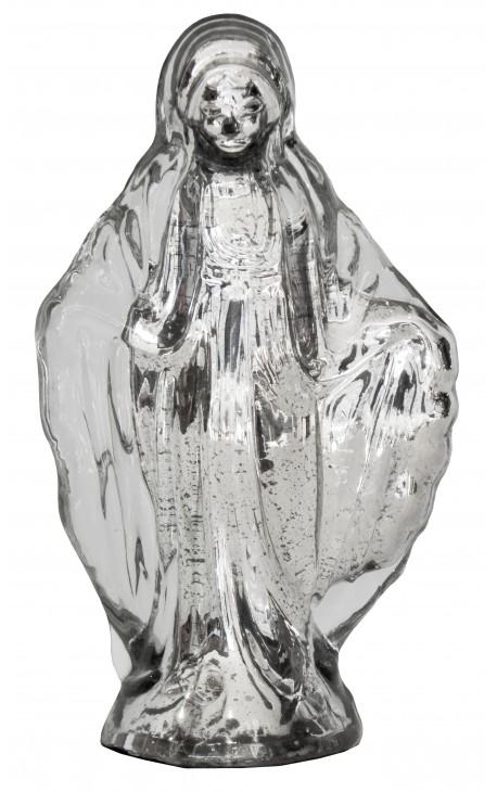 Vierge en verre mercurisé