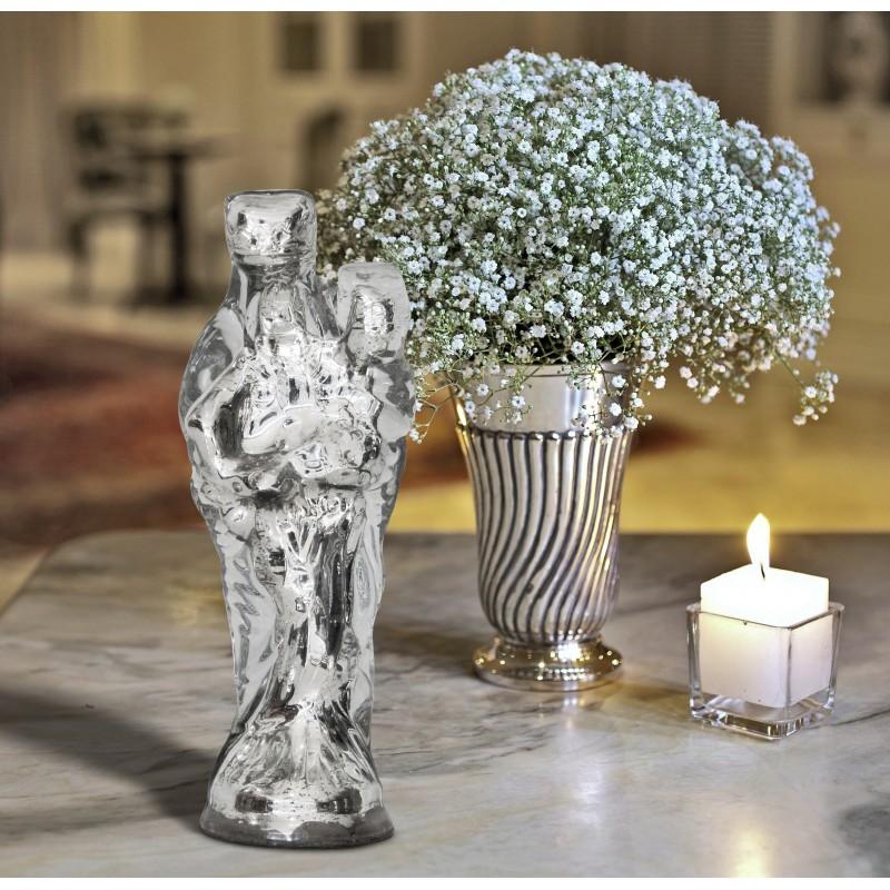 madonna and child glass mercurised. Black Bedroom Furniture Sets. Home Design Ideas