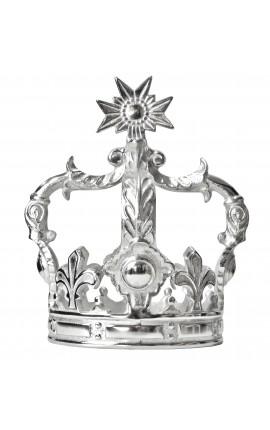 Couronne décorative en aluminium (taille moyenne)