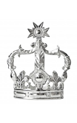 Decorative aluminium crown (medium size)