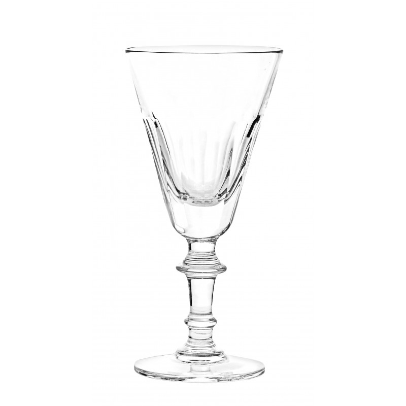 ensemble de 6 verres vin en cristal transparent. Black Bedroom Furniture Sets. Home Design Ideas