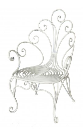 """Children's armchair in wrought iron. Collection """"Peacock"""""""
