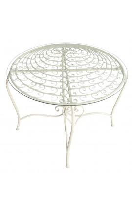 """Table en fer forgé. Collection """"Paon"""""""
