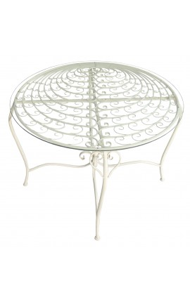"Wrought iron table. Collection ""Peacock"""